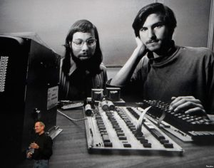 These two guys had an idea back in 1976. Now Apple directly employs over 66,000 people and over 627,000 people indirectly.